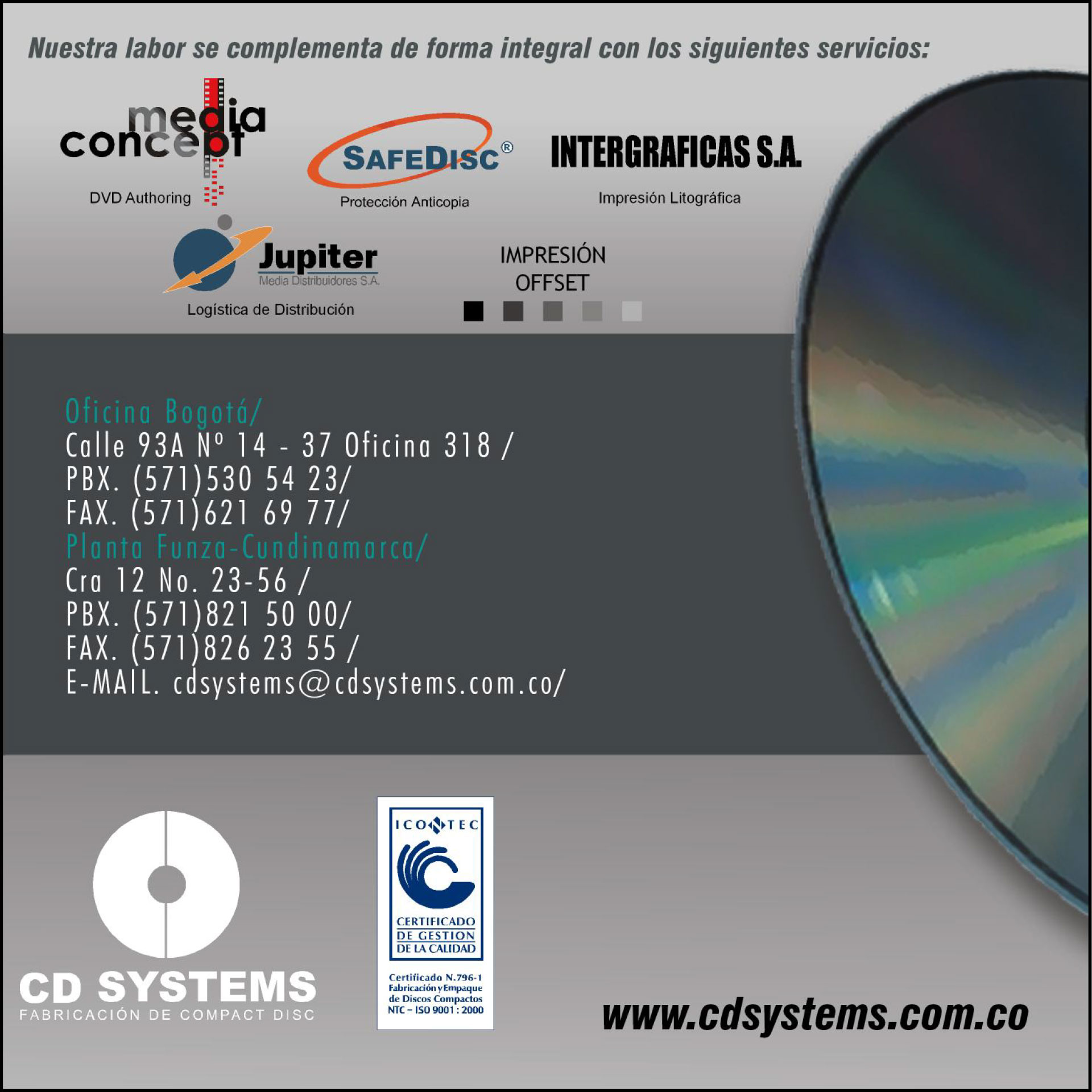 CD Systems Funda Retiro